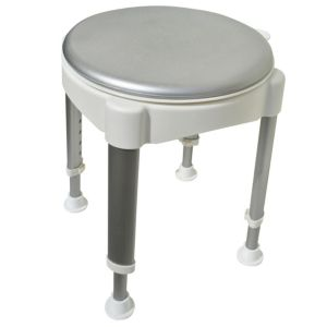 View Active Living Grey & White Shower Seat (H)115mm (W)370mm details