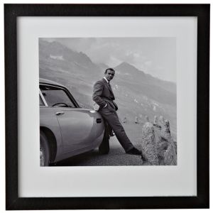View Sean Connery Black & White Wall Art (W)34cm x (H)34cm details