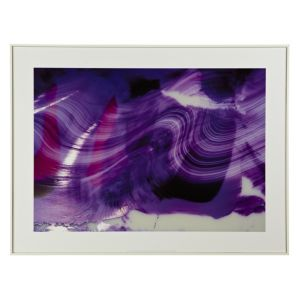 View Abstract Purple Framed Print (W)824mm x (H)624mm details