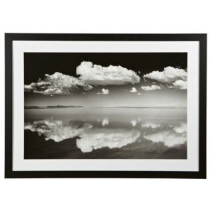 View Salt Flats Black & White Framed Print (W)770mm x (H)1070mm details