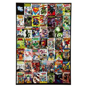 Dc Comics Wall Art dc comic multicolour wall art (w)620mm (h)925mm | departments