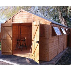 View 20X10 Shiplap Timber Workshop - with Assembly Service details