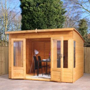 Image of 10X8 Shiplap Timber Summerhouse with Assembly Service