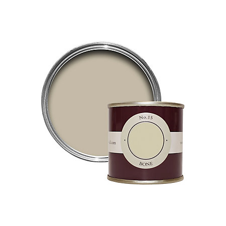 Farrow ball bone estate emulsion paint 0 1l tester for Farrow and ball bone