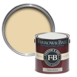 Image of Farrow & Ball All White no.2005 Matt Modern emulsion paint 2.5L