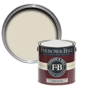 Image of Farrow & Ball Modern School house white No.291 Matt Emulsion paint 2.5L