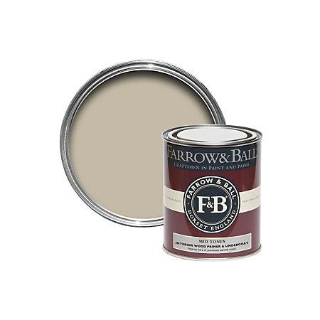 Farrow Ball Mid Tones Wood Primer Undercoat 750ml Departments Diy At B Q