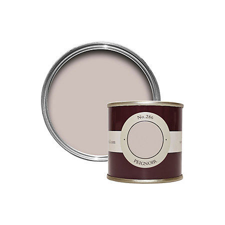 farrow ball peignoir estate emulsion paint 0 1l tester pot departments diy at b q. Black Bedroom Furniture Sets. Home Design Ideas