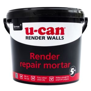 View U-Can Render Repair Mortar 5kg Tub details