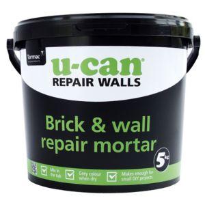 Image of U-Can Brick & wall repair mortar 5kg Tub