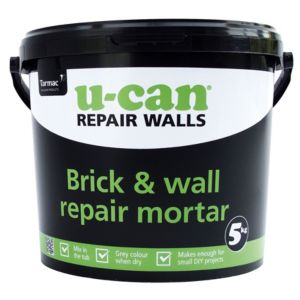 View U-Can Brick & Wall Repair Mortar 5kg Tub details