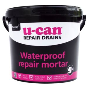 View U-Can Waterproof Repair Mortar 5kg Tub details