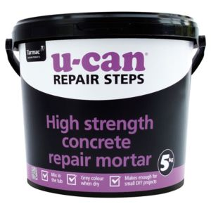 View U-Can High Strength Concrete Repair Mortar 5kg Tub details