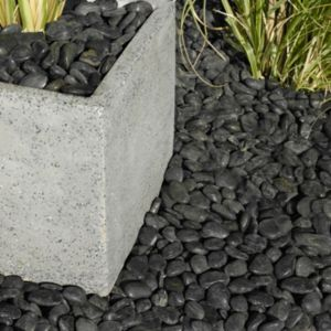 Image of Polished Black Chinese Pebbles 5kg