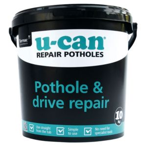 View U-Can Grey Pothole & Drive Repair, 10 kg Tub details