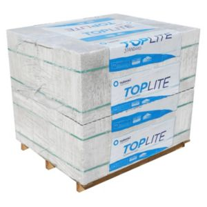 Image of Toplite Grey Aerated concrete Foundation Block (H)215mm (W)300mm (L)440mm 552000g