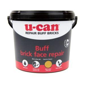 Image of U-Can Damaged brick repair mortar 5kg Tub