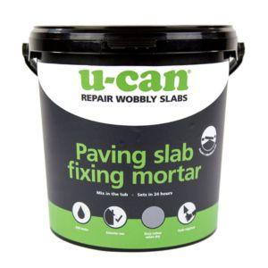 Image of U-Can Paving slab fixing mortar 10kg Tub
