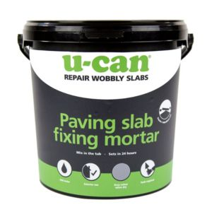 View U-Can Paving Slab Fixing Mortar 10kg Tub details