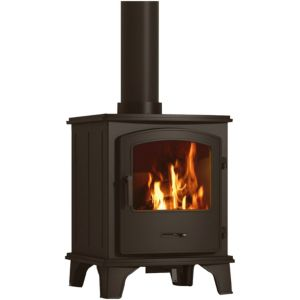 View Be Modern Ohio Cast Iron 5kW Solid Fuel Stove (W)460mm (D)430mm details