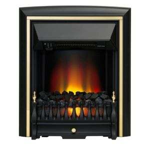 View Be Modern Viscount Black Electric Inset Fire details