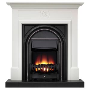 View Be Modern Dalston Black Electric Fire Suite details