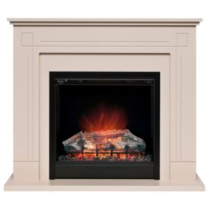 View Be Modern Roxette Black LED Display Electric Fire Suite details