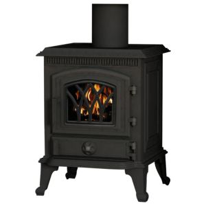 View Be Modern Windsor Cast Iron 5kW Solid Fuel Stove (W)442mm (D)442mm details