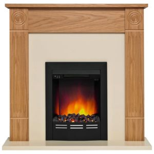 View Be Modern Hopwood Black LED Display Electric Fire Suite details