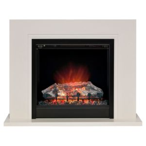 View Be Modern Langdon Black LED Display Electric Fire Suite details