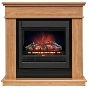 View Be Modern Avalon Black Remote Control Electric Fire Suite details