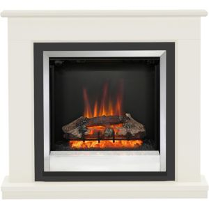Image of Be Modern Ardington Soft white LED Electric fire suite