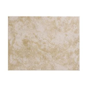 View Sandstorm Beige Ceramic Wall Tile, Pack of 12, (L)250mm (W)330mm details