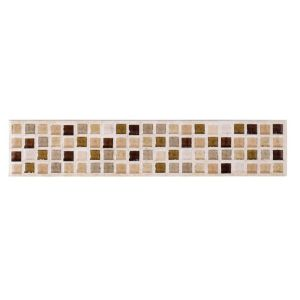 View Sandstorm Beige Ceramic Border Tile, (L)250mm (W)50mm details