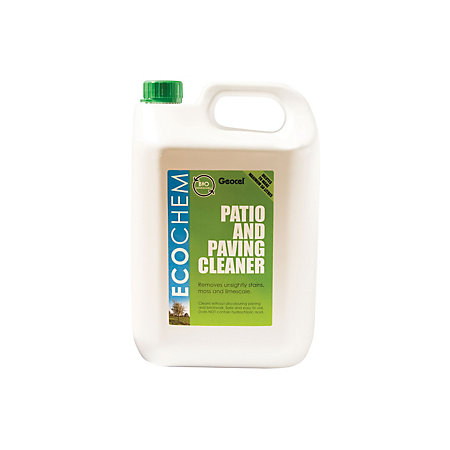 Ecochem patio driveway cleaner 5000ml departments for Driveway cleaning chemicals