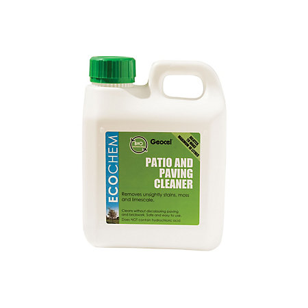 Ecochem patio driveway cleaner 1000ml departments for Driveway cleaning chemicals