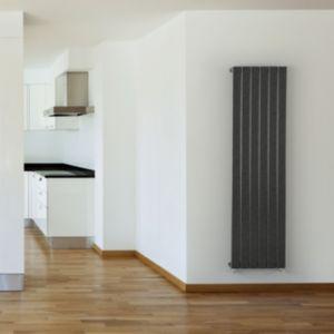 Image of Seren Égalrad Type 10 single Designer panel radiator Gun metal (H)1800mm (W)433mm