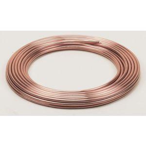 Image of Wednesbury Compression Copper Pipe (Dia)10mm (L)10m