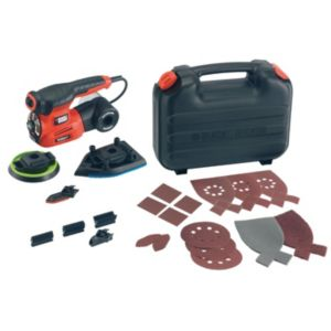 View Black & Decker 230V Corded 220W 4 In 1 Autoselect Multi Sander KA280K details