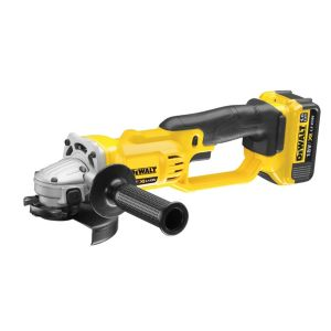 Image of DeWalt XR Cordless 18V 125mm Angle Grinder DCG412M2-GB