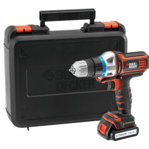 View Black & Decker 14.4V Li-Ion Multitool Starter Kit MT143K-GB details