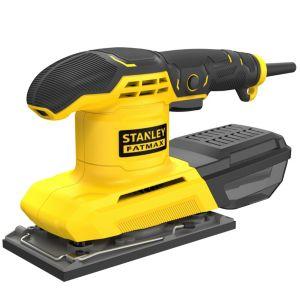 Image of Stanley FatMax 230V Corded 280W 1/3 Sanding Sheet KFFMEW210K-GB