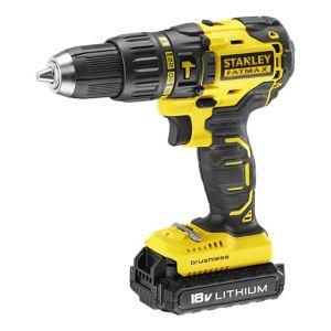 Image of Stanley FatMax Cordless 18V 2Ah Brushless Combi drill KFMCD628D1K-GB