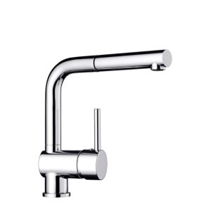 View Blanco Mixa Chrome Effect Pull Out Tap details