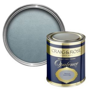 View Craig & Rose Opulence Platinum Metallic Effect Semi-Gloss Special Effect Paint 750ml details