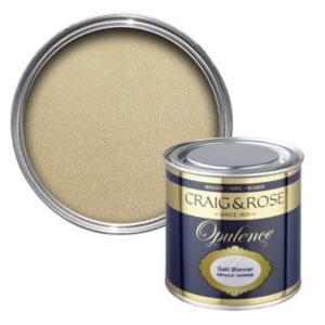 View Craig & Rose Opulence Gold Shimmer Semi-Gloss Special Effect Paint 250ml details
