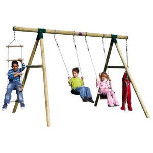 Image of Plum Gibbon Wooden Swing Set