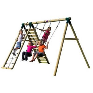 View Plum Uakari Wooden Swing Set details