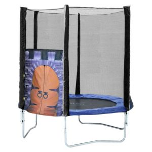Image of Plum Kings Fortress 6 ft Trampoline & Enclosure