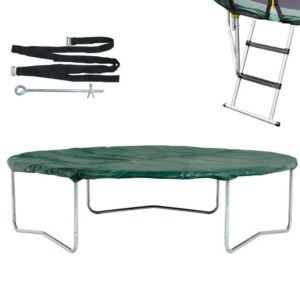 Image of Plum Black & Green 8 ft Trampoline Accessory Kit